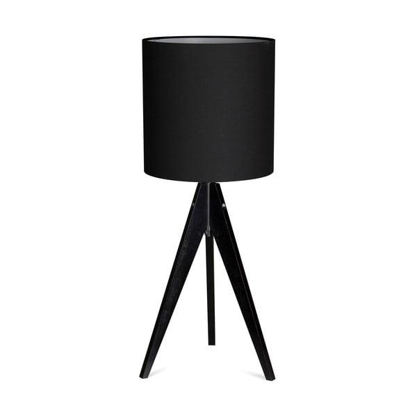 Lampa stołowa Artist Black/Black, 40x25 cm