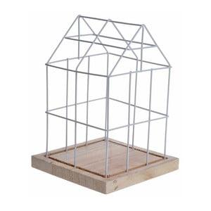 Dekoracja House Cage White, 26 cm