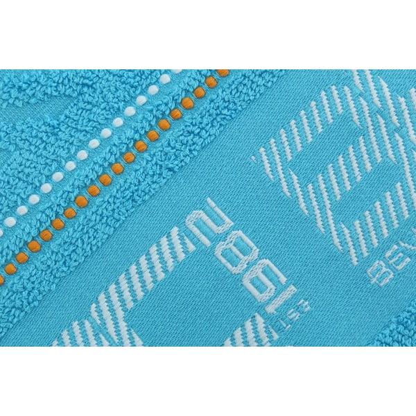 Ręcznik bawełniany BHPC 50x100 cm, pastelowy niebieski