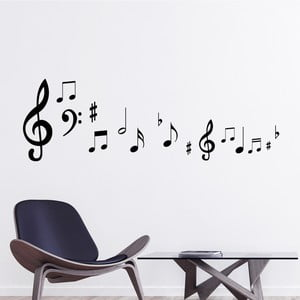 Naklejka Fanastick Musical Note