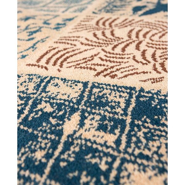 Dywan wełniany Coimbra no. 172, 60x120 cm, niebieski