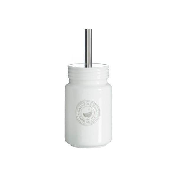 Szczotka toaletowa Cosas de Casa Puro Blanc