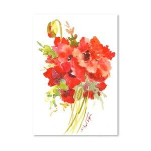 Plakat Poppies (projekt Suren Nersisyan)