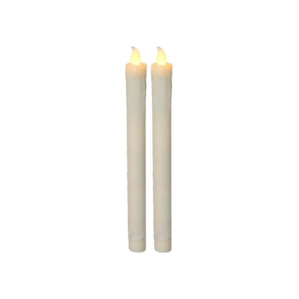 Zestaw 2 świeczek LED Long Candles, 23 cm