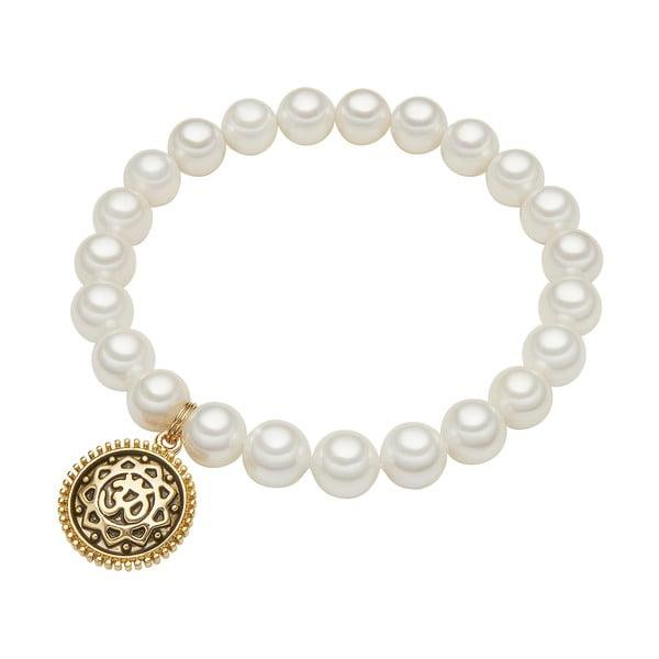 Bransoletka z białych pereł ⌀ 8 mm Perldesse Eve, długość 18 cm