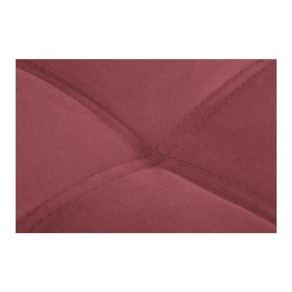 Czarno-różowy narożnik prawostronny Crinoline