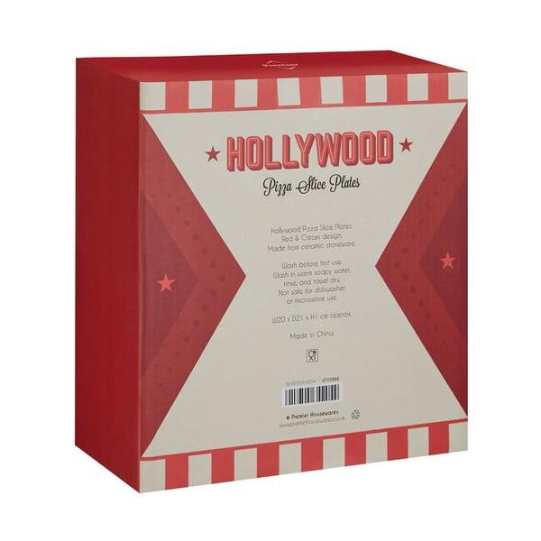 Zestaw 6 talerzy na pizzę Premier Housewares Hollywood