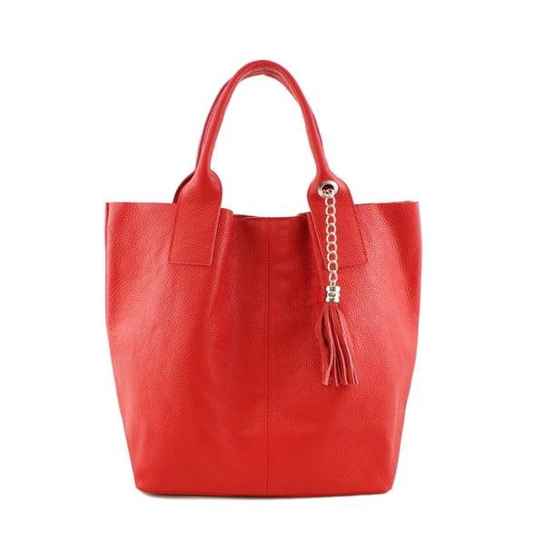 Skórzana torebka Fangi Rosso