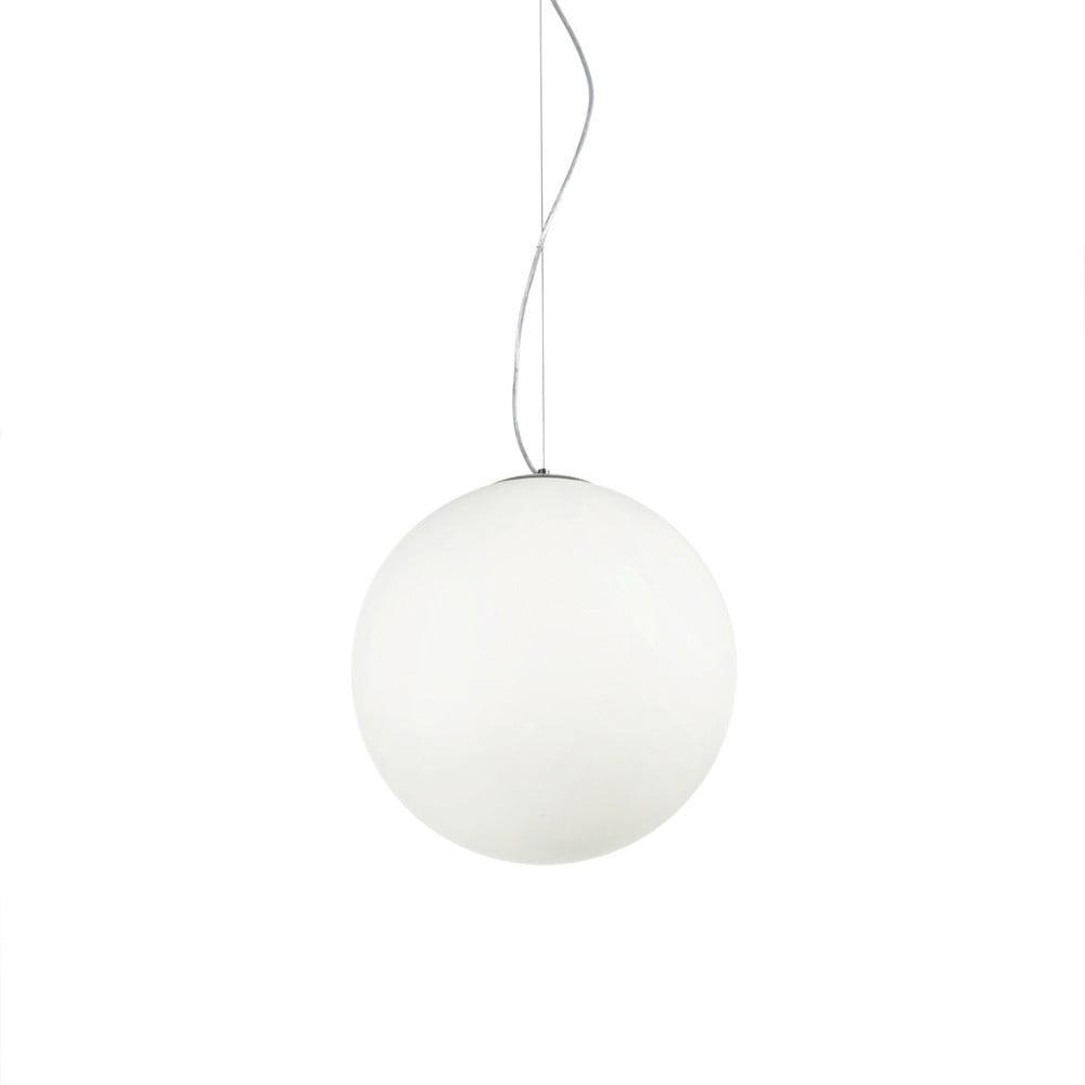 Biała lampa wisząca Evergreen Lights Julia