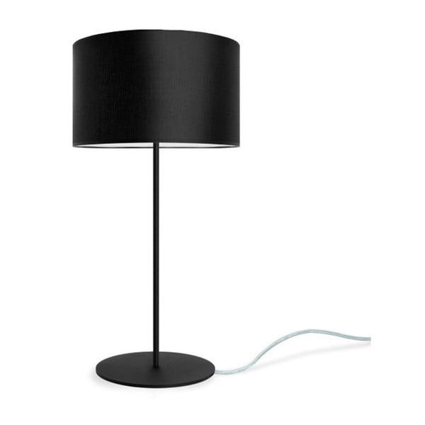 Czarna lampa stołowa Bulb Attack Tres