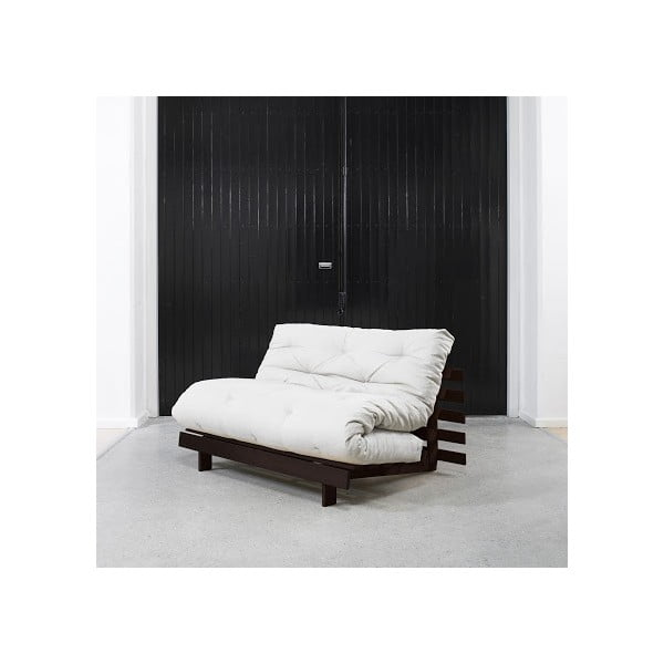 Sofa rozkładana Karup Roots Wenge/Natural