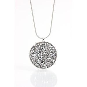 Naszyjnik z kryształami Swarovskiego Yasmine Circle Crystal