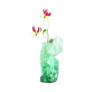 Papierowy wazon Green Gradient