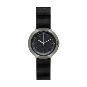 Zegarek Black Fuji Black Nylon, 43 mm