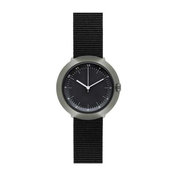 Zegarek Black Fuji Black Nylon, 43 mm