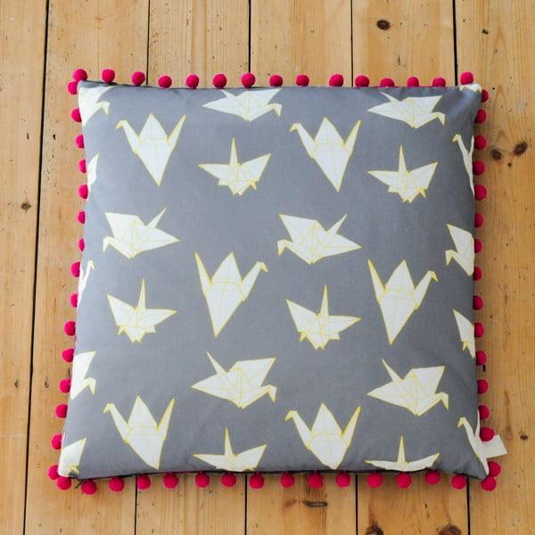 Poduszka Cranes, 61x61 cm