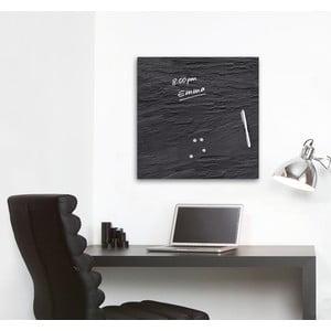 Tablica magnetyczna Eurographic Black Slate, 50x50 cm