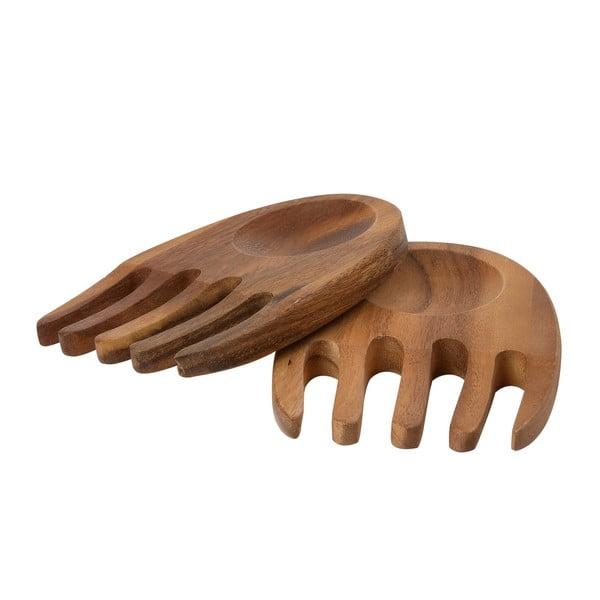 Sztućce do sałaty z drewna akacjowego T&G Woodware Tuscany