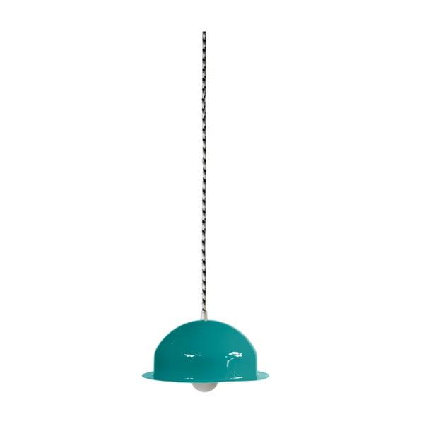 Lampa sufitowa Steel Pendant, turkusowa