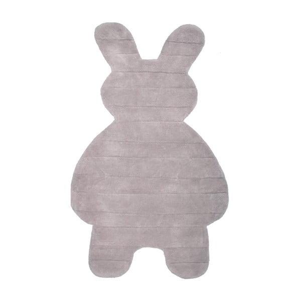 Dywan dziecięcy Bunny Grey, 85x140 cm