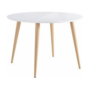 Biały stół z połyskiem Støraa Canton