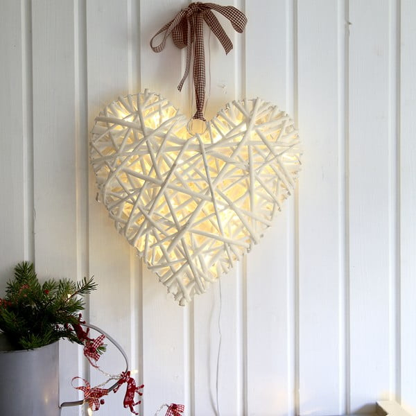 Świetlna dekoracja LED Best Season Beige,35cm