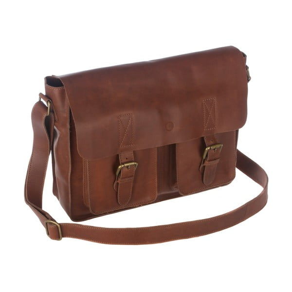 Skórzana torba Midhurst Brown