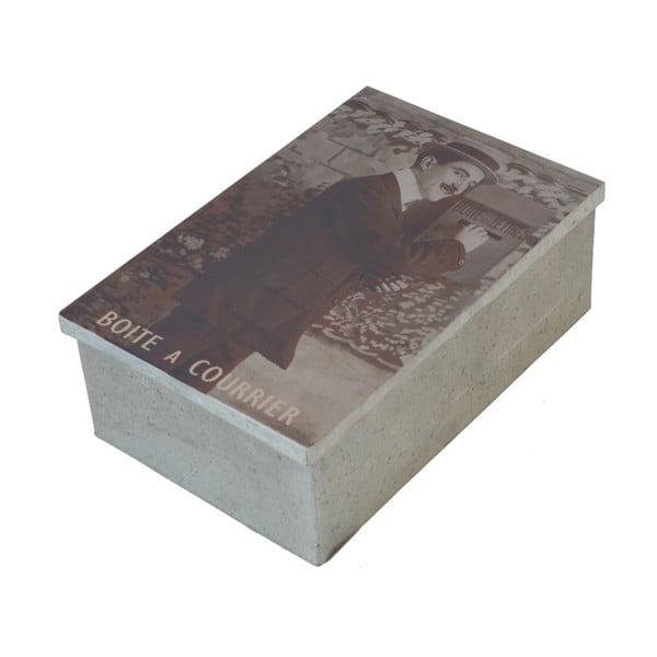 Metalowe pudełko na listy Antic Line