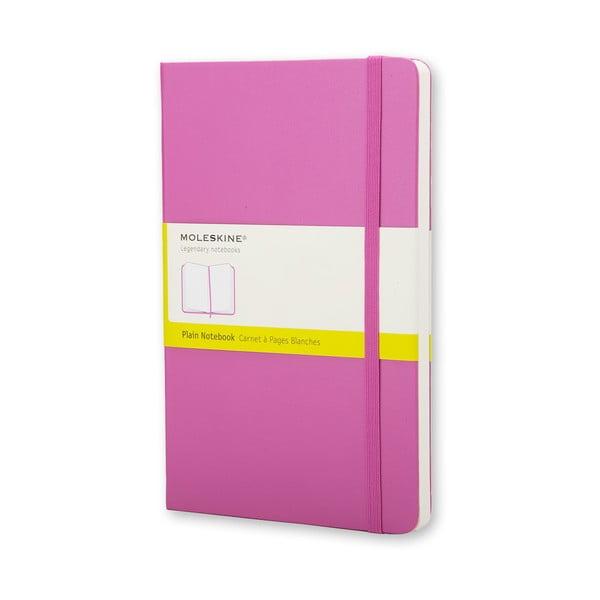 Różowy notatnik Moleskine Hard, gładki
