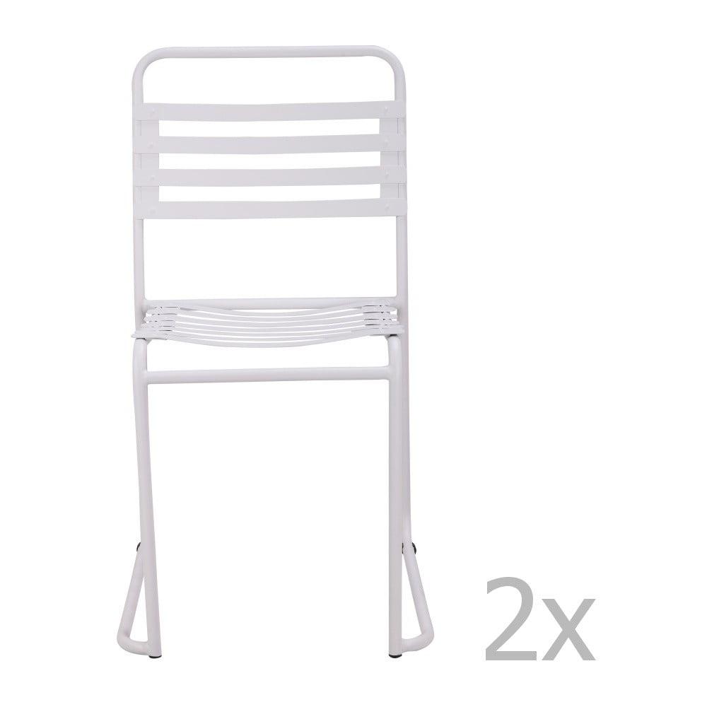 Białe krzesło Red Cartel Park
