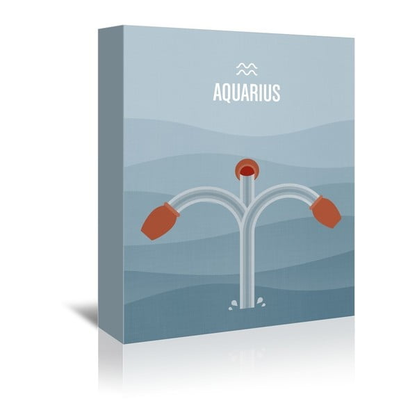 Obraz na płótnie Aquarius