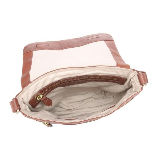 Skórzana torba Nina Cognac