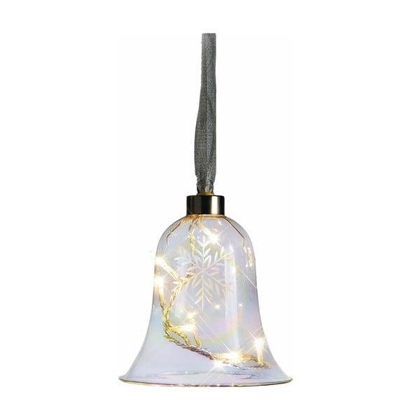 Świecący dzwonek Vesta, 12 cm