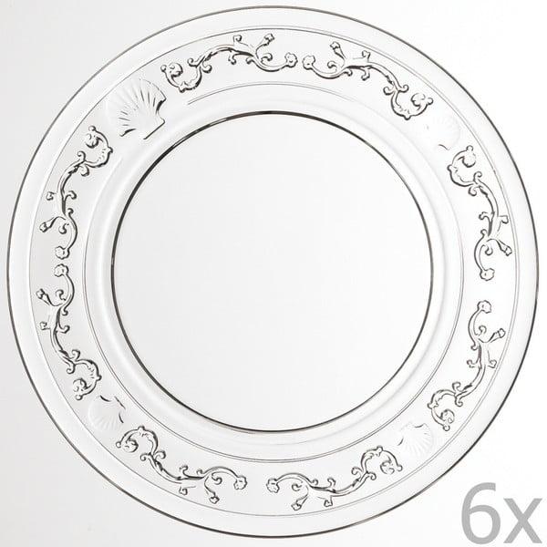 Zestaw 6 talerzyków deserowych Versailles, 15 cm