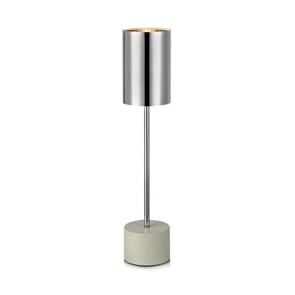Lampa stołowa w kolorze srebra Markslöjd Astoria