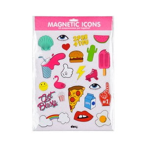 Magnesy Icons Pink