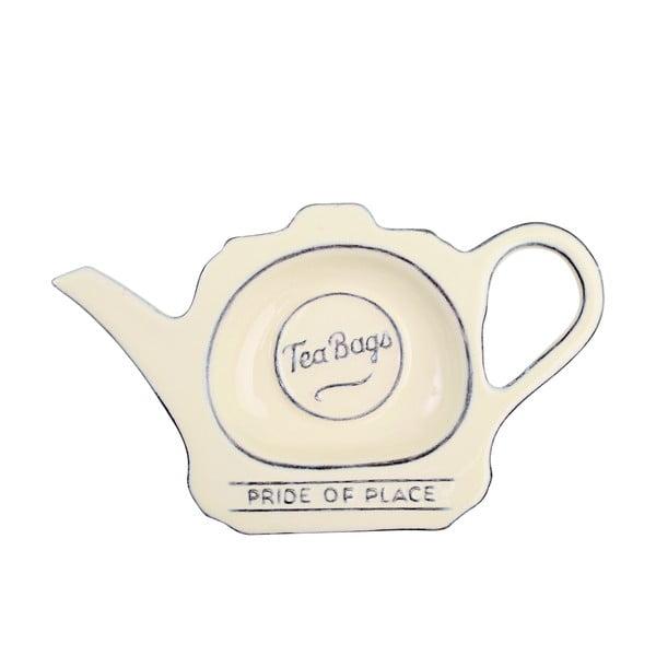 Kremowy spodek na woreczki po herbacie T&G Woodware Pride Of Place