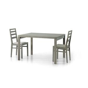Beżowy drewniany stół rozkładany Castagnetti Tavolo, 120cm