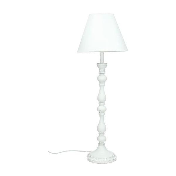 Lampa stołowa Wood White, 56,5 cm