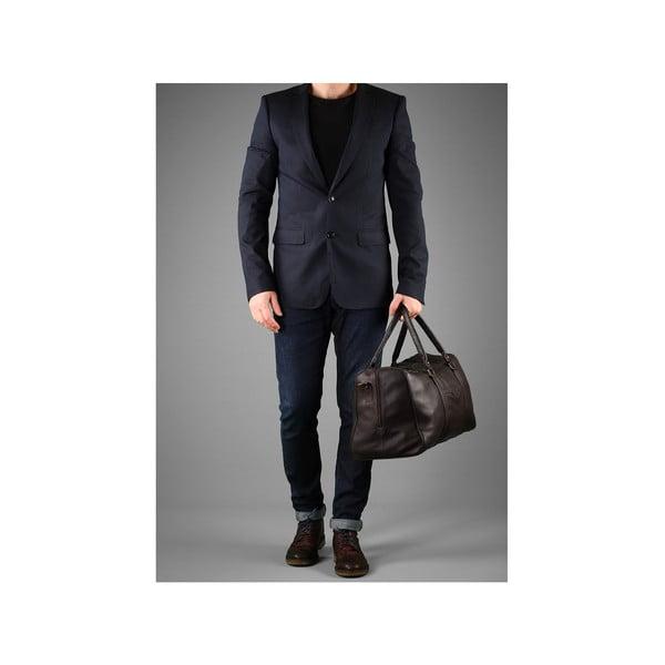 Skórzana torba męska Global Brown
