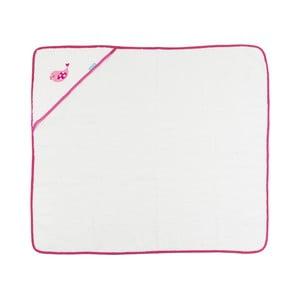 Ręcznik Little Birds Pink, 100x100 cm