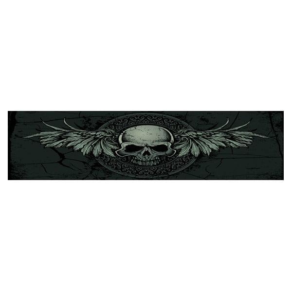 Łóżko Karup Eagle Black/Black Scull,  140x200 cm