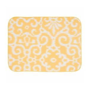 Żółta mata/ociekacz do naczyń InterDesign iDry, 61 x 46 cm