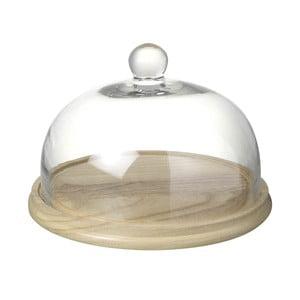 Taca z kloszem Parlane Dome, wys. 18.5 cm