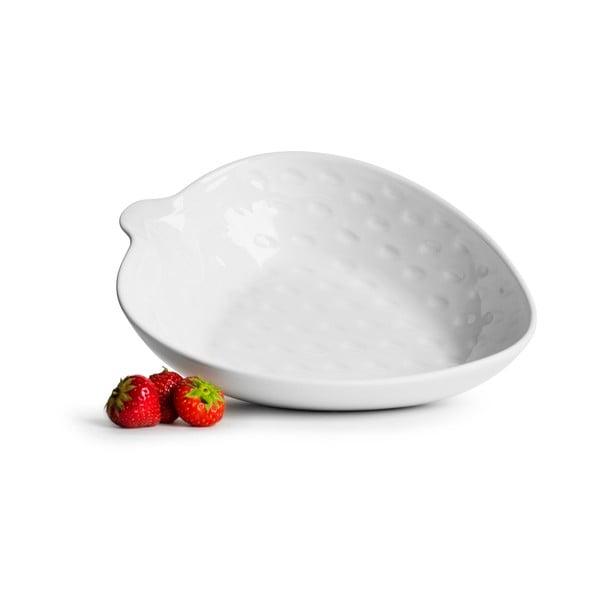 Porcelanowa miska w kształcie truskawki Sagaform Strawberry