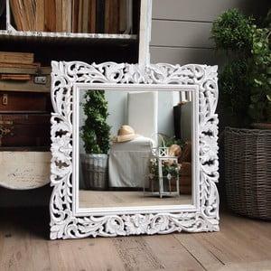 Lustro Milano White, 70x70 cm
