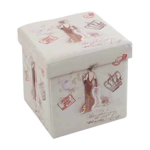 Puf/pudełko Romantic Lady