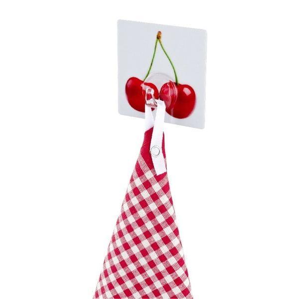 Wieszak z przyssawkami Static-Loc Cherry, do 8 kg