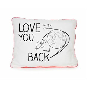 Poduszka Love You Moon, 50x35 cm