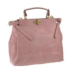Różowa torebka skórzana Florence Electra